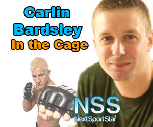 <b>Carlin Bardsley - In the Cage (2pm to 3pm)<br>