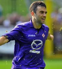 Soccer: Acf Fiorentina friendly match, Mario Gomez