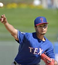 Texas Rangers at spring training