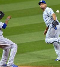 USP MLB: KANSAS CITY ROYALS AT CLEVELAND INDIANS S BBA USA OH