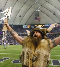Ragnar the Minnesota Vikings NFL Mascot