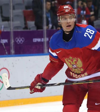 Ice Hockey - Winter Olympics Day 6 - Russia v Slovenia