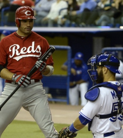 MLB: Cincinnati Reds at Toronto Blue Jays
