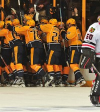 Chicago Blackhawks v Nashville Predators - Game Three