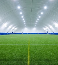 Soccer Dome of NW Ohio.Interior Full